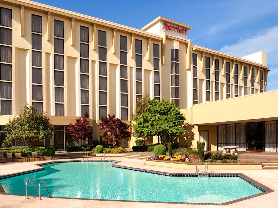 Greenville Marriott Exterior & Pool