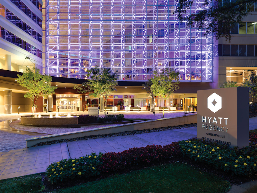Hyatt Regency Greenville Exterior