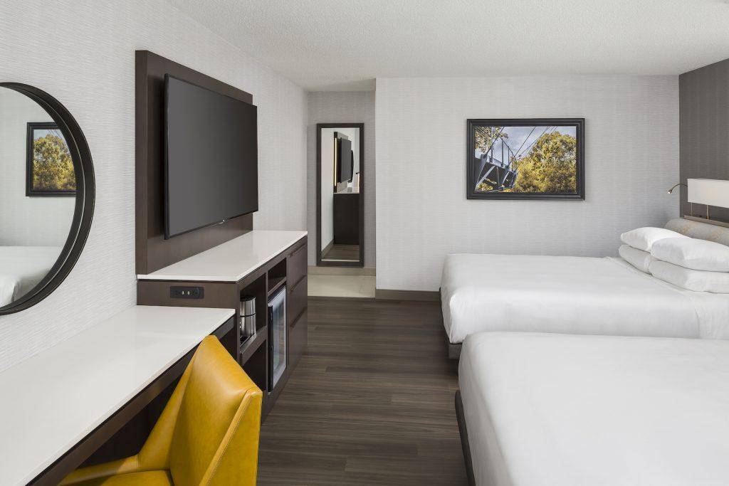Hyatt Regency Greenville Guestroom Model