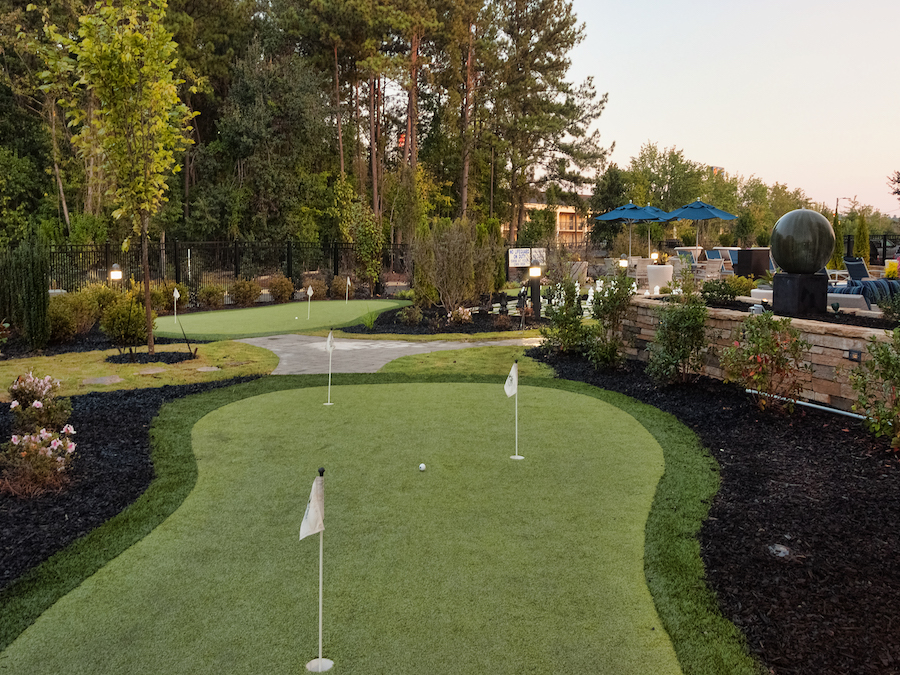 Hampton Inn and Suites Augusta, GA Putting Green
