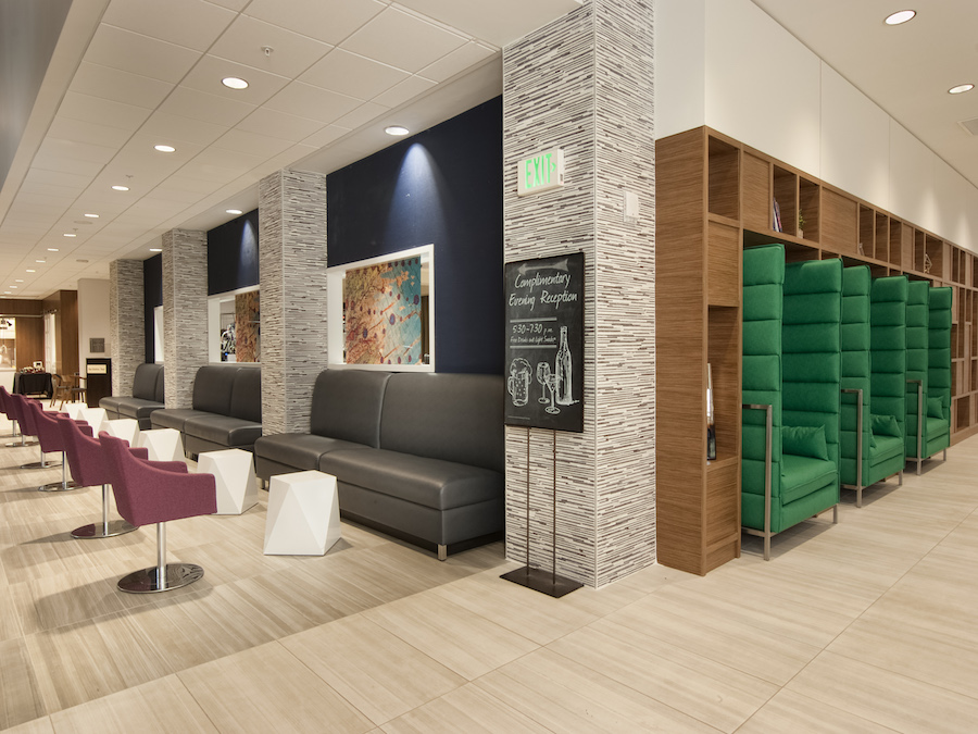 Embassy Suites By Hilton Raleigh Crabtree Lobby Seating Auro Hotels