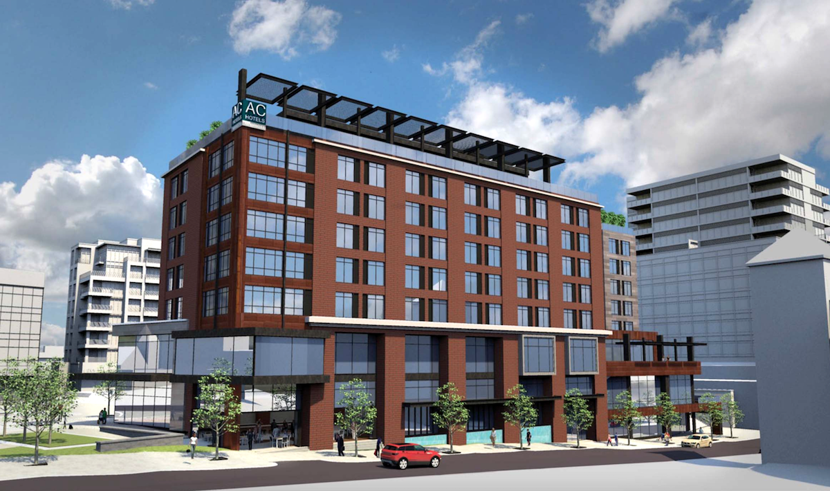 AC Hotels by Marriott Downtown Greenville