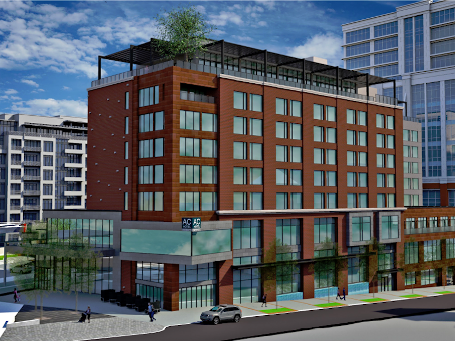 AC by Marriott, Greenville, SC Rendering